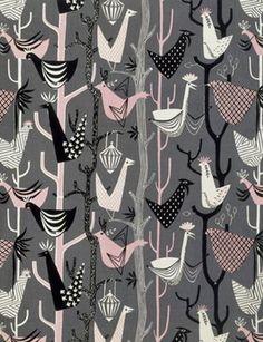 Lucienne Day, textile designer, 1950's
