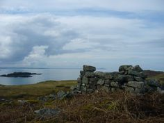 Ruins on Handa