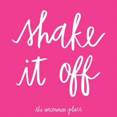 :: Shake It Off! // by Katie Thierjung of The Uncommon Place