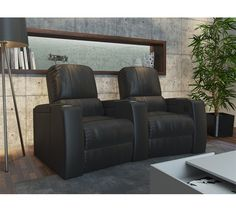 octane storm home theater seats