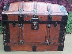 images of antique trunks   Antique Trunk #229