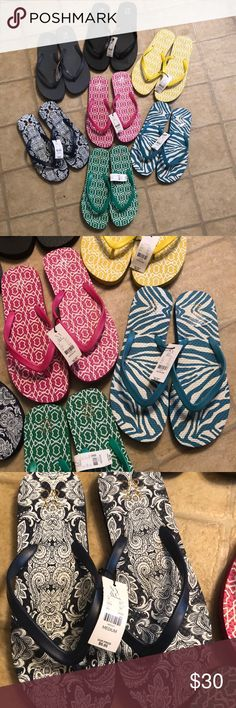 14136cb1d NWT New York   Company flip flops bulk!!! Smoke free home Pet free