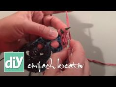 Tutorial Sommer-Poncho: Kordelrand | DIY einfach kreativ - YouTube