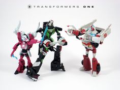 Transformers Animated Arcee, Lockdown and Ratchet