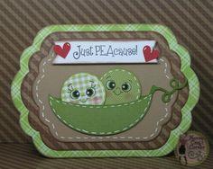 Nonna's Craft Corner: Peachy Keen Stamps Challenge 13-10