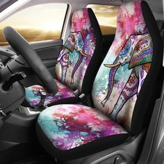 Elephant pattern car seat cover for the car автомобильные ак