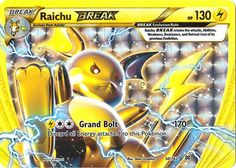 Pokemon - Raichu-BREAK (50/162) - XY BREAKthrough Pokémon http://www.amazon.com/dp/B016VKBJY8/ref=cm_sw_r_pi_dp_-CJpwb17PYB3C