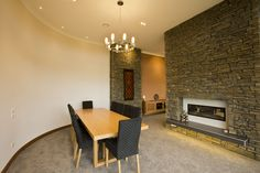 Our new Southern Ledgestone veneer profile was chosen for this new homes interior features.