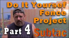 """In this video I turn my post hole digging into a music video with """"Lucero Stole My Girl"""" from 52DB. You can get a look at the progress of the DIY fence project without getting too bored."""