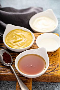 Honey Mustard Recipe Honey Mustard Dip, Honey Mustard Recipes, Mustard Salmon, Dipping Sauces For Chicken, Sauce For Chicken, Sauce Recipes, Cooking Recipes, Cooking Ideas, Easy Recipes