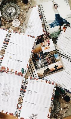 The Report Book 2017 - boho planner travel diary 2017