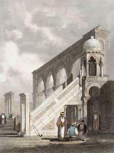 Jerusalém, Púlpito na Plataforma da Mesquita de Omar