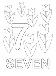 number coloring pages 7 i do want to keep it language neutral so i