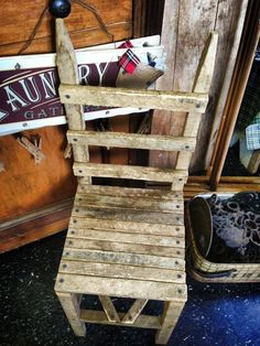 Tobacco stick chair