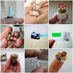 Lots of tiny things. Miniatures