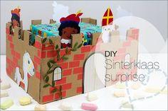 DIY: Sinterklaas Surprise, algemene surprise die voor zowel een jongen / man kan als voor een meisje / vrouw. Makkelijk te knutselen.