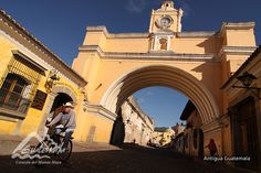 Temple, Convent and Arch of Saint Catherine, Antigua Guatemala