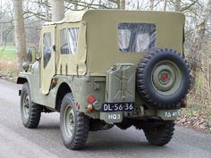 Nekaf M38A1 Willys Jeep Convertible - 1956
