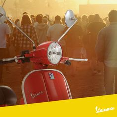 The true friend that brings to everywhere, and to every concert.   #Vespa #bestfriend