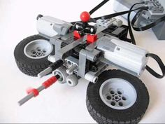 Lego remote controlled 4 speed gearbox (easy handling) - YouTube