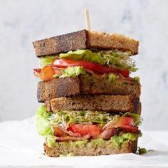 BLATs (Bacon-Lettuce-Avocado-Tomato Sandwiches)  - EatingWell.com