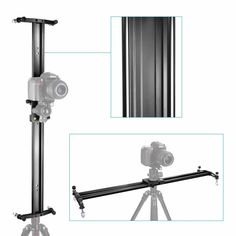 Neewer DSLR Camera Track Dolly Slider Video Stabilization Rail System with Load Capacity for Photography Best Camera For Portraits, Best Camera For Photography, Film Photography, Best Cameras For Travel, Entry Level Dslr, Nikon Dx, Camera Deals, Professional Camera, Best Digital Camera