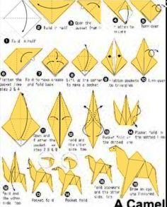 Origami camel- Not caramel