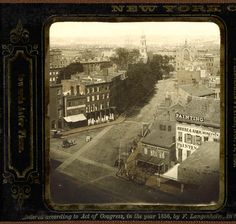 1856, Third Avenue & Stuyvesant Street (Cooper Square, the East Village)