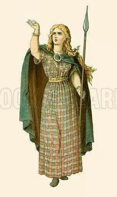 Warrior Queen who led a rebellion against The Romans. Queen Boudica, Iceni Tribe, Celtic Clothing, Medieval Clothing, Celtic Dress, Celtic Warriors, The Legend Of Heroes, Celtic Mythology, Warrior Queen