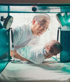 Pastor Lee Jong-rak built the Baby Box in his Seoul home to rescue unwanted and disabled infants. More than 600 children have been left in the Baby Box, which has heat and a simple bed to cradle babies.