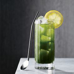 For this Japanese-inspired whiskey cocktail, bartender Jason Patz combines matcha (a vivid green-tea powder) with Japanese whisky. Get the recipe at Food & Wine.