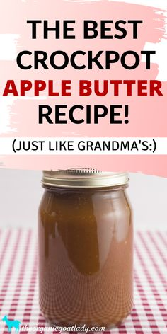 Crockpot Apple Butter Recipe Apple Recipes Canning Recipes How to Can Apple Butter Preserving Food Self Sufficiency Apple Recipes For Canning, Apple Butter Canning, Homemade Apple Butter, Crockpot Recipes, Crockpot Apple Butter, Canned Butter, Cooker Recipes, Preserving Apples, Canning Apples