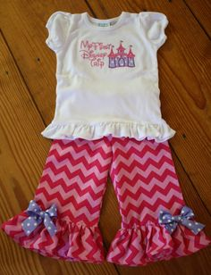 Ruffle Pants outfit on Etsy, $35.00