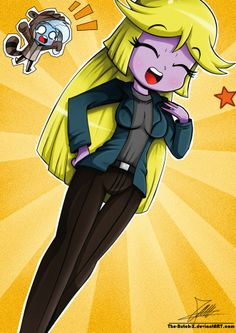 .:Blondy Sparkle:. by The-Butch-X Fan Art / Digital Art / Drawings / Other©2014 The-Butch-X
