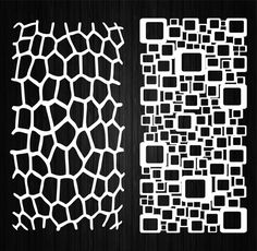 Laser Cut Screens, Laser Cut Panels, Room Divider Screen, Room Screen, Wood Panel Walls, Wood Paneling, Wood Wall, Abstract Template, Abstract Pattern