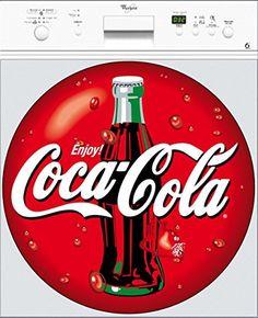 Stickersnews - Stickers lave vaisselle Coca Cola Dimensions - 60x60cm