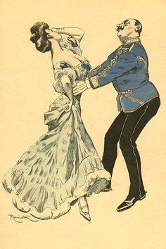 Czárdas by Ferdinand Freih. King Edward Vii, Ferdinand, Shall We Dance, Old Postcards, Belle Epoque, Vintage Posters, Princess Zelda, Animation, Comics