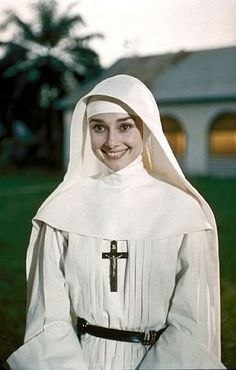 audrey in the nuns story
