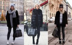 Уличная мода: Все секреты базового гардероба в модных образах фэшн-блоггера Linda Juhola Fur Coat, My Style, Jackets, Fashion, Down Jackets, Moda, Fashion Styles, Fashion Illustrations, Fur Coats