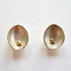 Cluster Pod Earrings   Contemporary Earrings by contemporary jewellery designer Dot Sim