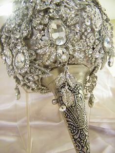 Spectacular The ultimate in crystal by CrystalBroochBouquet. via Etsy.