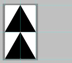 Creating a Triangle Pattern in Photoshop | Easier to do with shape tool