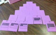 A fun pyramid solitaire inspired game for practicing combinations of 10 or 20!  Also includes FREE 20 frame playing cards!