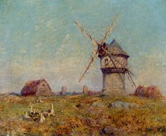 Breton Landscape (Ferdinand du Puigaudeau - )