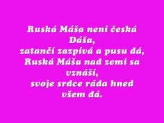 Michal David-Ruská Máša - YouTube Karaoke, Make It Yourself, Music, Youtube, Musica, Musik, Muziek, Music Activities, Youtubers