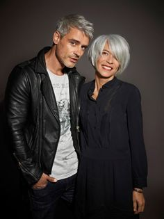 Who says silver hair isn't cool!