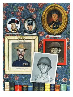 """""""Willie Gillis Generations"""", September 16,1944 Giclee Print by Norman Rockwell at Art.com"""