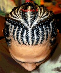 Tremendous Cornrow Designs Boys And Criss Cross On Pinterest Hairstyles For Men Maxibearus