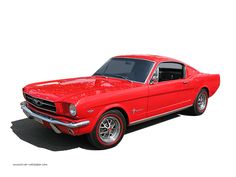 1965 Mustang Fastback... my dream car in her dream color...*le sigh*