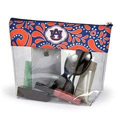 Auburn Tigers Clear Gameday Travel Pouch Bag Sports Team…
